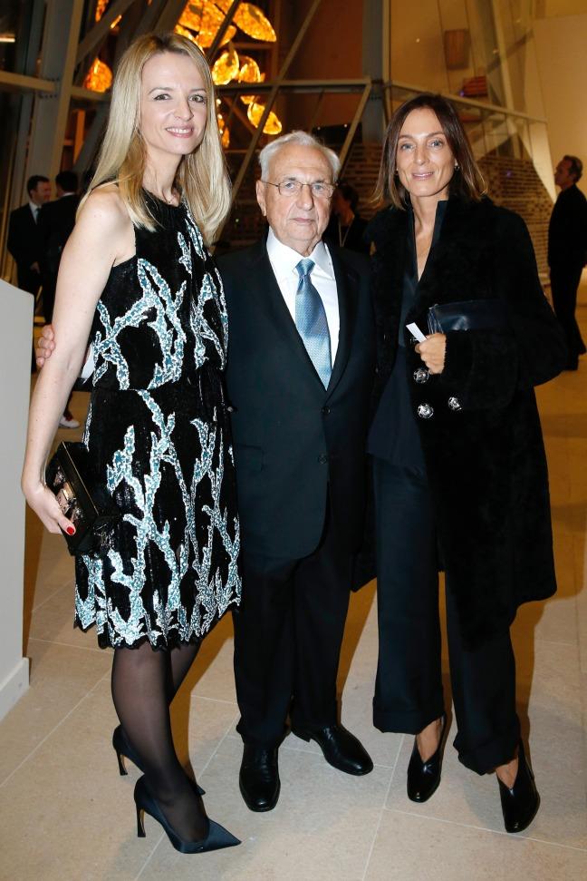 fondation-louis-vuitton-opening-paris-Delphine_Arnault-Frank_Gehry-Phoebe_Philo