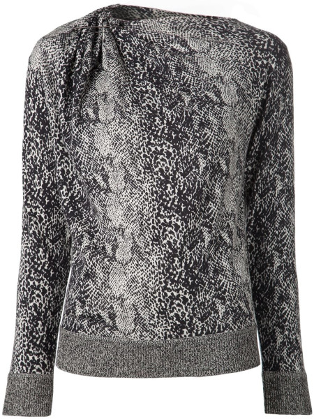lanvin-black-snakeskin-sweater