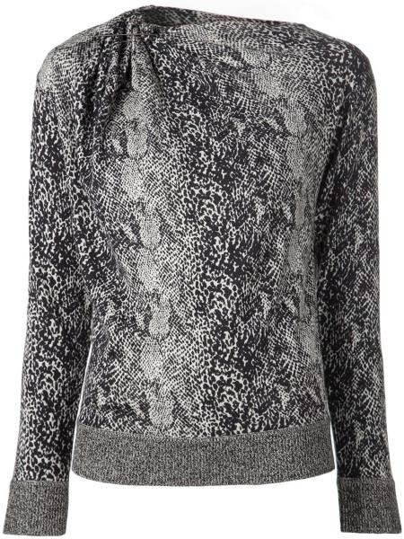 lanvin-black-snakeskin-sweater