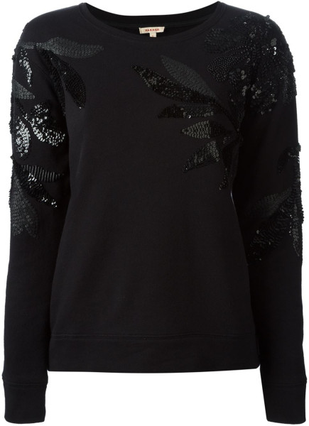 parosh-black-embellished-sweatshirt-product