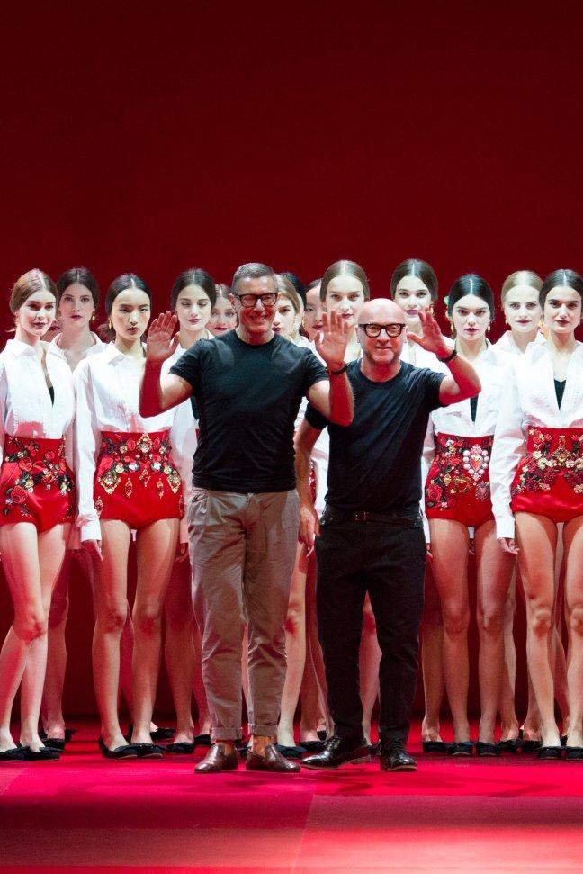 Stefano_Gabbana_Domenico_Dolce_Spring15